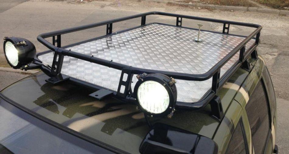 Багажник на крышу нива шевроле своими руками